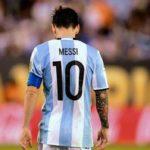 Messi oo ka fariistay ciyaaraha caalamiga ah