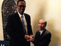 Somali deputy Prime Minister meets USA ambassador to Somalia in Nairobi