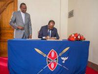 Dadaab closure top Uhuru, Somalia President Hassan Mohamud talks