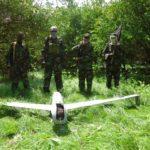 Sawiro: Maleeshiyada al-Shabaab oo qabatay diyaarad drone ah