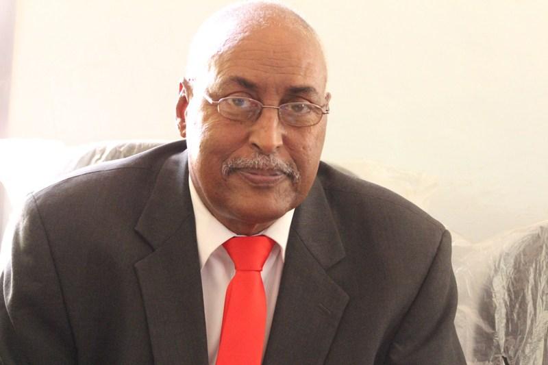 The Vice-President of Puntland, Abdihakim Omar Amay. [Photo: Puntland Mirror]