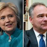 Murashaxa xisbiga Dimuqraadiga Maraykanka Hillary Clinton oo ku-xigeenkeeda u dooratay Tim Kaine