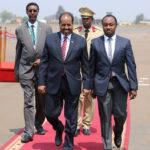 Madaxweynaha Soomaaliya oo gaaray caasimada Rwanda ee Kigali si uu uga qayb galo shir madaxeedka Midowga Afrika