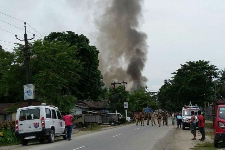 Assam market attack