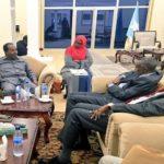 Somali President meets IGAD delegation in Mogadishu