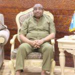 Puntland President meets UAE ambassador to Somalia