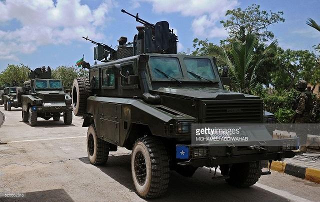 Somali military vehicle