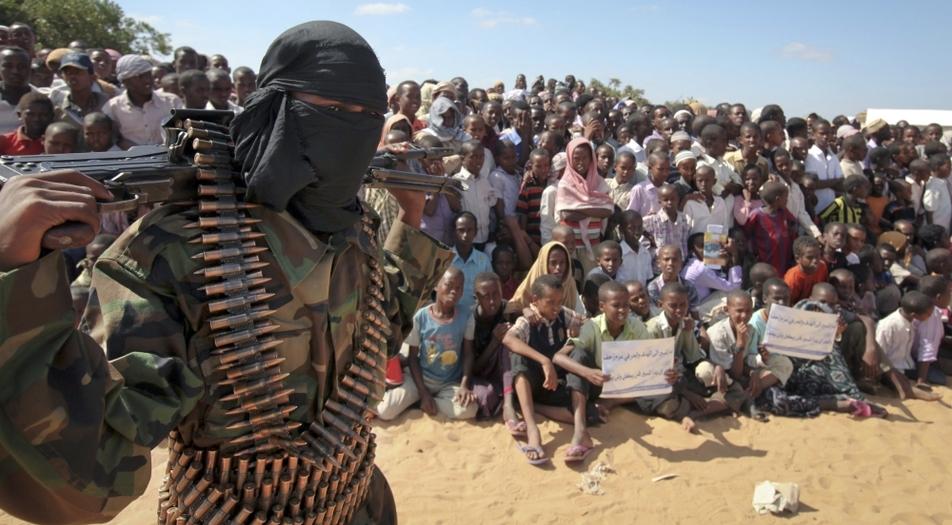 Kooxda hubaysan ee Al-Shabaab. [Sawirka: Archive]