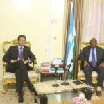 Puntland president meets with EU ambassador to Somalia