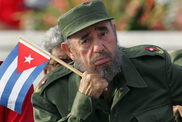 Fidel Castro, madaxweynihii hore ee dalka Cuba. [Sawirka: Archive]