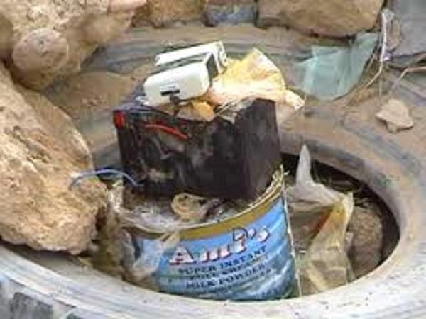Landmine made in Somalia. [Photo: Archive]