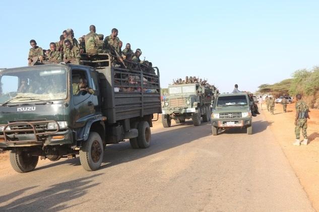 Jubbaland oo ciidamo u dirtay deegaano ay Al-Shabaab kula dirirtay dad xoolo dhaqato ah. [Sawirka: Puntlandi]