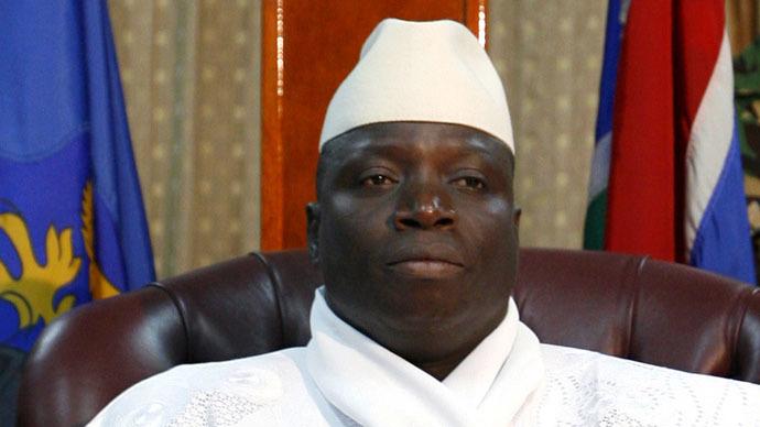 Yahya Jammeh, madaxweynihii hore ee dalka Gambia. [Sawirka: Reuters]