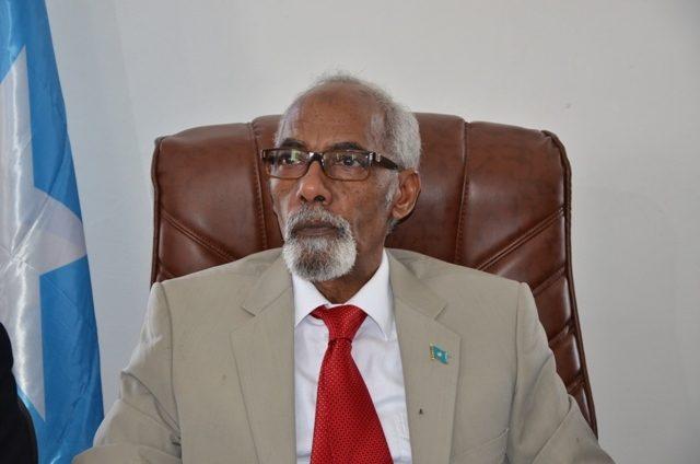 Guddoomiyihii hore ee baarlamaanka dowladda federaalka Soomaaliya, Maxamed Shiikh Cusmaan Jawaari. [Sawirka: Archive]