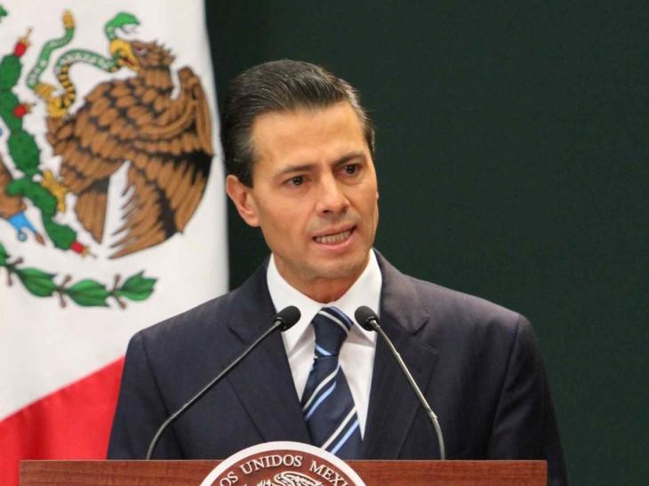 Madaxweynaha dalka Mexico Enrique Pena Nieto . [Sawirka: Archive]