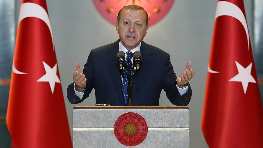 Madaxweynaha dalka Turkiga Recep Tayyip Erdogan. [Xuquuqda Sawirka: Anadolu News Agency]
