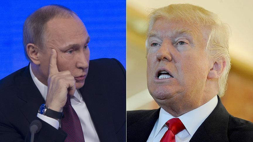 Putin iyo Trump oo Sabtida khadka taleefoonka ku wadahadli doona. [Sawirka: Puntland Mirror Graphic]