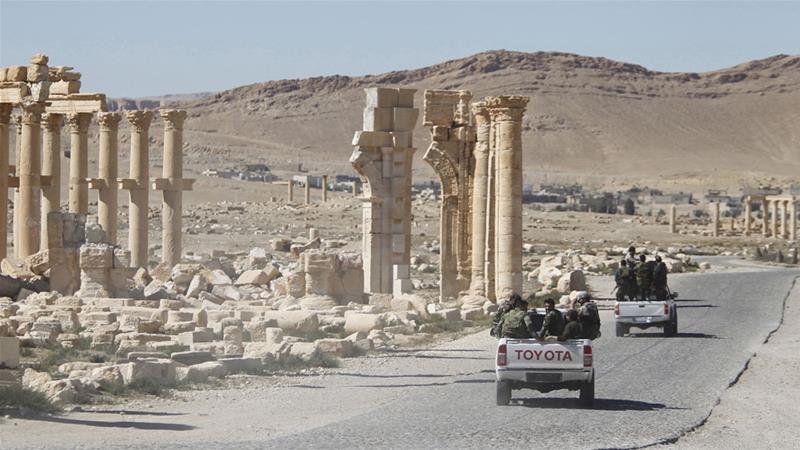 Ciidamada Suuriya oo ISIS kala wareegay magaalada taariikhiga ah ee Palmyra. [Xigashada Sawirka: Reuters]