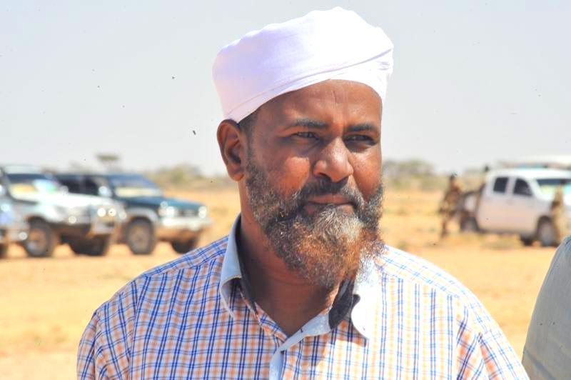 Local traditional leader, Abdikadir Ibrahim Harago. [Photo: Archive]