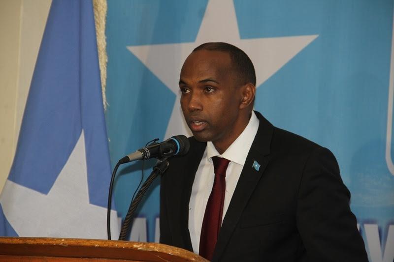 Somalia's Premier Hassan Ali Khayre. [Photo: Archive]