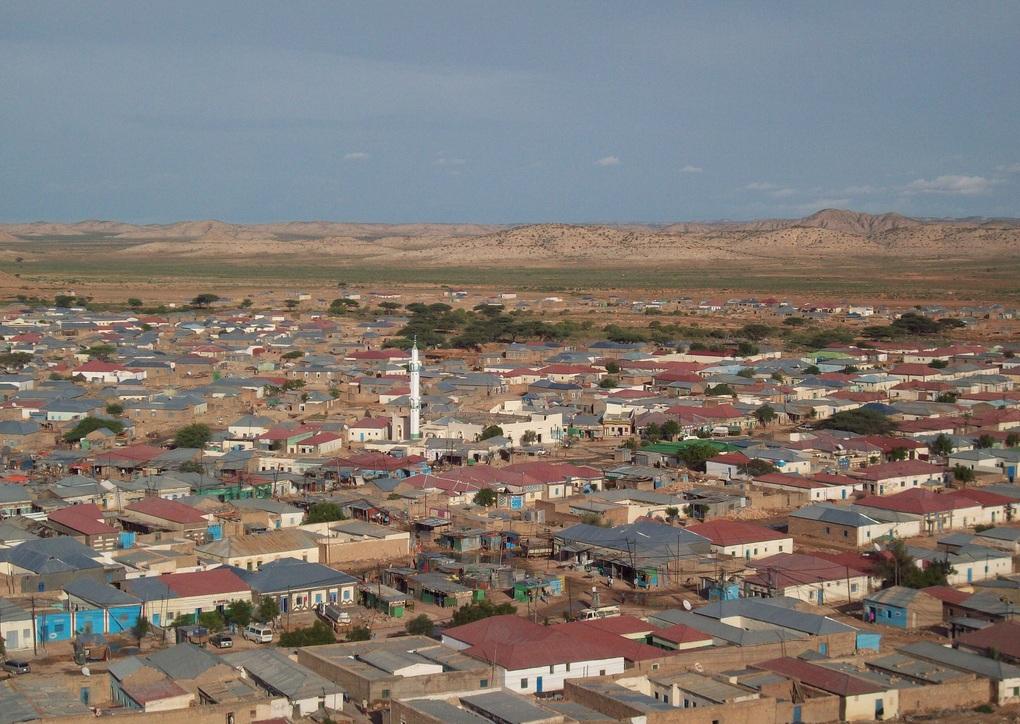 Las-anod town of Sool region. [Photo: Puntland Mirror]