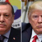 Madaxweynaha Turkiga Recep Tayyip Erdogan iyo Madaxweynaha Mareykanka Donald Trump oo bisha soo socota kulmi doona