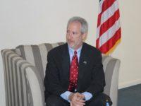 Former US ambassador to Somalia Stephen Schwartz. [Photo Credit: Radio Mogadishu]