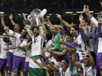 Real Madrid oo ku guuleysatay horyaalka naadiyaasha Yurub. [Sawirka: Twitter]