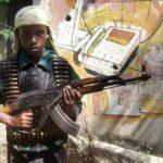 Caruurta yar yar ee kunool deegaanada bartamaha Soomaaliya oo ka cararaya askar qorista Al-Shabaab