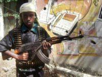 Wiil yar oo ay Al-Shabaab askaraysay. [Sawirka: Archive]
