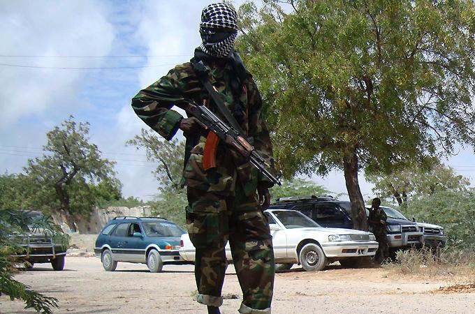 Al-Shabab fighter