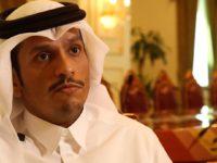 Wasiirka Arrimaha Dibada Qatar Sheikh Mohammed bin Abdulrahman al-Thani. [Xigashada Sawirka: BBc]