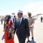 President Farmajo travels to Sudan