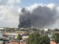 At least 8 killed in car bomb in Mogadishu. [Photo: Twitter]