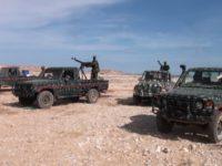 File: Armored vehicles of Puntland in Sanaag region.