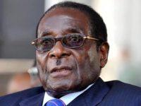 Sawirka: Madaxweyne Robert Mugabe.