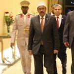 Somali President arrives Sharma El Sheikh for COMESA conference