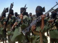 Dagaalyahano katirsan Al-Shabaab oo dhoolatus millatari ka sameynaya tuulo kutaala gobolka Shabeellaha Hoose, bishii Febaraayo 17, 2011. [Lahaanshaha Sawirka: AFP]