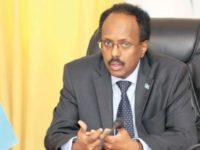 Somalia President Mohamed Abdullahi Farmajo. [File Photo]