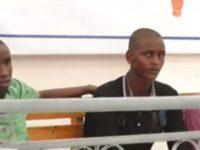 Saddex xubnood oo katirsan Al-Shabaab intii lagu guda jiray dhageysiga maxkamadda Muqdisho 30, 2018. [Sawirka]
