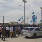 Banaanbax looga soo horjeedo joogitaanka maamulka Somaliland ee gobolka Sool oo ka dhacay Garoowe