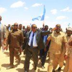 Puntland President visits in Baran town