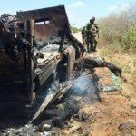 U.S. says its air strike kills 52 militants who attacked Somali base
