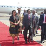 Madaxweyne Farmaajo oo gaaray Addis Ababa si uu uga  qeybgalo shir madaxeedka Afrika