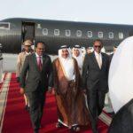 Madaxweyne Farmaajo oo gaaray dalka Qatar