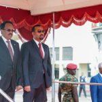 Madaxweynaha Soomaaliya oo safar ku tagay magaalada Addis Ababa ee Itoobiya