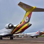 Uganda Airlines oo dib u bilowday adeegyadii duulimaadyada 20 sanno kadib
