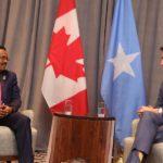 Madaxweynaha Soomaaliya oo Addis Ababa kulan kula yeeshay Raysulwasaaraha Canada