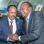 Madaxweynaha Soomaaliya oo la kulmi doona dhiggiisa Kenya